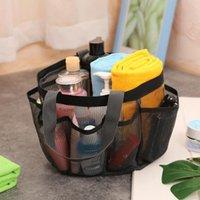 Frauen Mesh Luxury Travel Wash Bags Shopping Tasche Große Capcatity-Speicher Handtasche Totes Multifunktionsfunktion gefaltete Organisatoren DWC7499