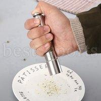 Moinhos de pimenta manual Moedor de aço inoxidável sal Muller molho de especiarias home pimenta ferramentas de cozinha CYZ3160