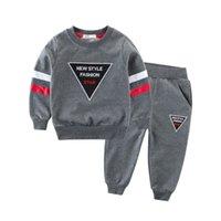 Toddler enfants bébé garçons vêtements à manches longues haut de cuillère à capuche + pantalon en coton vêtements de vêtements pour enfants vêtements pour enfants 472 y2