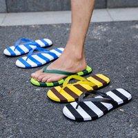 Slippers Summer Men's Flip-flops Thick Soles Swimming Comfort Non-slip Sandals Man Fashion Beach Shoes Flip-flop