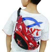 Мода детская талия пакет девушка мальчик милый Fanny мультфильм динозавр грудь сумка детей ремень сумка сумка сумка детская молния на молнии