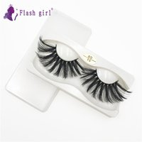 Flash Girl 8D Top Quality 20 Styles 25mm Eyelashes Dramatic Mink Theses Lámina privada de tira completa