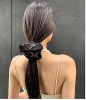 Diseñador nylon elástico triángulo diademas bandas de goma cabello pony colas para mujer chicas de seda tiaras deportes fitness fiesta al aire libre regalo regalo