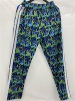 Angels et pantalons pour hommes Femmes Rainbow Stripe Straight Casual Pantalon Palming