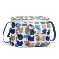 Maternity Stroller Organizer Nappy Carriage By Pram Cart Basket Mommy wet Diaper Baby Bag 210330