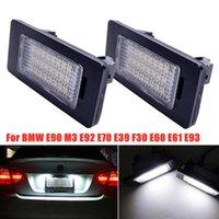 2x 24 LED Numéro de la plaque d'immatriculation pour E90 m3 E92 E70 E39 F30 E61 E61 E93 Urgence