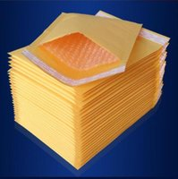 100pcs Many Sizes Yellow Kraft Bubble Mailing Envelope Bags Bubble Mailers Padded Envelopes Packaging Shipping Bags sgg