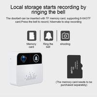 Doorbells Wireless Wifi Doorbell Two Way Audio Video Intercom Home Security Surveillance Camera Remote View