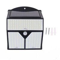 318/436 LED 태양 광 가벼운 적외선 인체 센서 및 제어 야외 벽 방수 야드 안뜰 거리 M7DA 램프