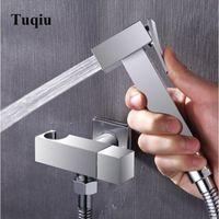 Vidric Toilet Bidet Faucet Chrome Single Cold Bathroom Shower Blow-fed Spray Gun Nozzle Hardware Faucets