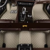 Flash mat leather floor mats for All Models K2 3 4 5 Kia Cerato Sportage Optima Maxima carnival rio ceed car styling fb fg fr t