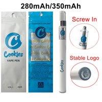 Cookies Cookies Revapes Cartridges 350MAH 280MAH Стартовые наборы 0.5 мл Пустые тележки 1,8 мм Распылители нефтяных отверстий с упаковочной сумкой E-сигареты
