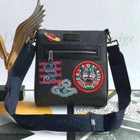 망 디자이너 Sup 작은 메신저 숄더 가방 Luxurys 브랜드 타이거 UFO 뱀 크로스 바디 자 수 가죽 캔버스 쇼핑 클러치 비즈니스 가방