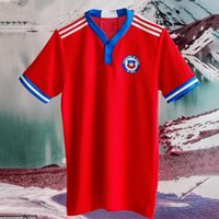 Artiklar 2021-22 Nyaste Chile Soccer Jersey Toppkvalitet Chilean Hem Away 21-22 Vidal Alexis Sanchez Felipe Mora Erick Pulgar Football Jerseys