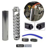 Filtre à carburant de voiture 6 pouces Spirale 1/2-28 Noyau de noyau Tube en aluminium Tube de solvant pour NAPA 4003 WIX 24003