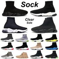 hommes chaussures baskets scarpe sock designer sock shoes chaussette chaussures triple noir blanc hommes femmes Chaussures mode hommes trainer runner plateforme baskets