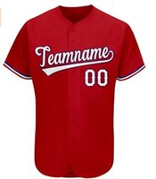 Custom Baseball Jersey Los Angeles Kentucky Penn State Cleveland Any Name And Number Colorful Please Contact the Customer Service Adult Youth