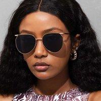 Brand Polarized ray Retro round Sunglasses for Women Men Metal-frame ban designers UV400 Eyewear Sun Glasses frame designer With bag Star models as Gift s21182