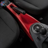 Car Strage Box Gear Shift Panel Decortaion Cover For Smart 453 Fortwo Forfour Interior Styling Modification Accessories Organizer