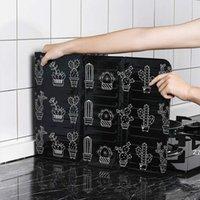 Utensili da cucina creativi con forno a fornello Utensili da cucina Cooking Isolamento termico Splash e Scossa Deflettore a prova di protezione ad alta temperatura HWD9846