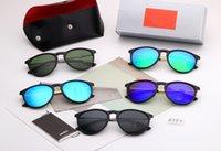 2021 جديد طويل الأجل المتاحة الأزواج الأزياء الترفيه نظارات شمسية نظارات شمسية عدسة الزجاج المقسى اللون 5 لون نموذج 4171