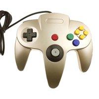 Oyun Kontrolörleri Joysticks Anahtarı N64 Host Denetleyici Kablolu Gamepad NGC GC Joystick Gamecube Wiiu Wii için titreşimli