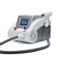 Multifunktionell permanent laser tatuering Hårborttagningsmaskin 1064nm 532nm 1320nm q Växla Nd YAG-utrustning