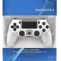 Новый беспроводной контроллер PS4 Dualshock4 PS4 для Sony PlayStation4 White + USB-кабель