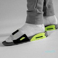Uomini di alta qualità Donne 90 pantofole Sandali Sandali Scarpa Scivolo Summer Fashion Ampia Flip Flip Flops New Best Track Topshop999 Star Stem Wycy Basketball