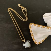 Ladies Pendant Necklace Fashionable small fragrance wind love necklace of high quality