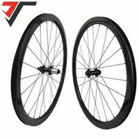 Roues de vélo 700C Frein de disque Light Road Frein Cyclocross 38/50 / 60 / 88mm CLINCHER WheelSet Tubely