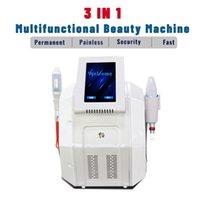 Taşınabilir IPL Makinesi Kalıcı Epilasyon ND YAG Lazer SHR Opt Elight Cilt Gençleştirme RF Yüz Kaldırma