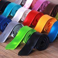 5cm Slim Cravate Cravate Cravat De Cravat Entreprise Elite Designer 8CM Couvre-Côles Terminez-vous à une réunion Blanc Blanc Blanc