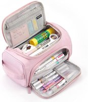 Pencil Cases Big Capacity Case High Large Storage Pouch Marker Pen Travel Simple Stationery Bag School College Office Organizer