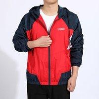 Erkek Kadın Ceketler Ceket Kazak Hoodie Uzun Kollu Sonbahar Spor Koşu Jogger Fermuar Rüzgarlık Erkek Giyim Hoodies Asya Boyutu Giyim