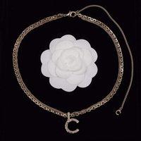 Topkwaliteit Mode Stijlen Stempel Charm Hanger Ketting in 18 K Vergulde voor Vrouwen Bruiloft Sieraden Gift PS3029