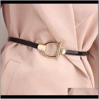 S1449 Vestido para mujer Suéter Decoración Cinturón de patente Fino Casual Faux Cuero Cinturones Zwyza Ruibx