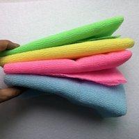 30 * 100 cm salux japanische peeling schönheit haut badekörper waschen handtuch tuch zurück schrubbad 1207 v2
