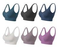 Женские спортивные бюстгальтеры Luyogasports Yoga Outfit Bodybuilding All Match Consust Chypeat Push Up Bras Высокое качество Урожай Урожай крытый Одежда на открытом воздухе