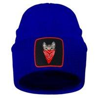 Beanies 재미있는 동물 고양이 따뜻한 니트 모자를 유지 / 모자 여성 남성 짧은 스레드 비 딘 스키 니트 모자 가을 겨울 Czapka Zimowa 탄성