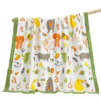 Towel Baby Gauze Bath 120 * 150cm Cotton Six-layer Water Wash Infant Child Summer Cool Is Big Boy