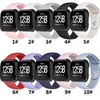Силиконовый ремешок Versa 2 Band Soft Writ Водонепроницаемая замена Часы для замещения для Fitbit Versa Браслет Аксессуары