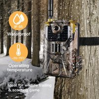 Hunting Cameras Waterproof 20Mp HC900M 1080P Wildlife Trail Camera Stealth Vision Scouting Infrared Night-Vision Accessory