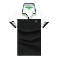Yaz Casual Polo Nefes Fermuar Anti-Binlenme En Kaliteli Nakış Düğmesi Yaka Tasarımcıları Pamuk Rahat T Shirt Erkekler Için Asya Boyutu M-3XL