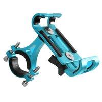 Porte-téléphone portable supports support d'alliage d'aluminium portable mobile voiture voiture vélo moto électrique cochouceux de navigation fixe