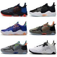 Alta Qualidade Paul George 5 pg v sapatos de basquete para homens top pg5 5s baolan laranja todos os brancos pretos esportes sapatilhas tamanho 40-46
