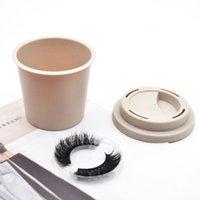 10pcs Eyelash Packaging Box Lash Boxes Package Custom 3D Mink Lashes Storage Plastic Clear Drawer Case Bulk Vendors Wholesale False Eyelashe