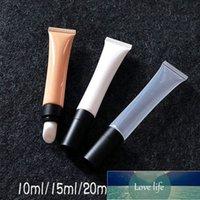 Garrafa 10ml Vazia Cream Cream Tube Tubo De Massagem De Cerâmica Branco Loja Laranja Loção Recarregável Cosméticos