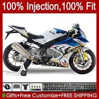 Injection Mold Fairings For BMW S-1000RR S 1000RR 1000 RR S1000-RR 09-14 19No.158 S1000RR 09 10 11 12 13 14 S1000 RR 2009 2010 2011 2012 2013 2014 OEM Bodys Kit blue factory
