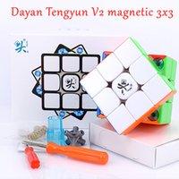 Dayan Tengyun V2 M 자기 3x3x3 매직 큐브 3x3 속도 큐브 자석 큐브 마술 2x2x2 퍼즐 큐브